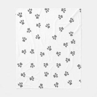 Panda Paws Fleece Blanket