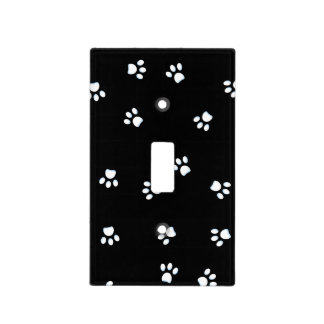 Panda Paws Light Switch Cover