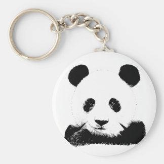 Panda Peeks Out Keychain