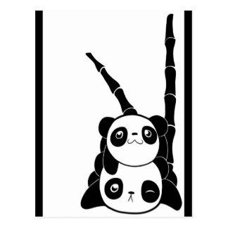 Panda Pile Postcard