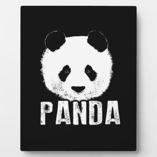 Panda Plaque