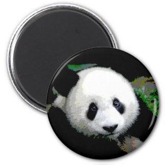 Panda Pop Art 2 Inch Round Magnet