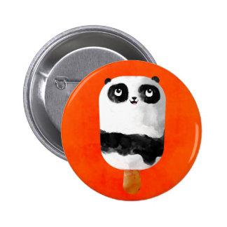 Panda Popsicle Ice Cream 2 Inch Round Button