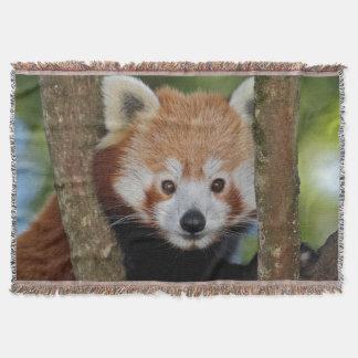 Panda Portrait Throw Blanket
