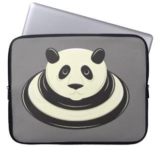 Panda Puddle Computer Sleeve