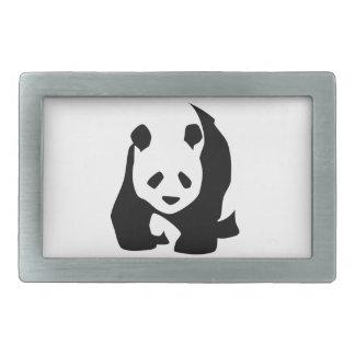 Panda Rectangular Belt Buckles