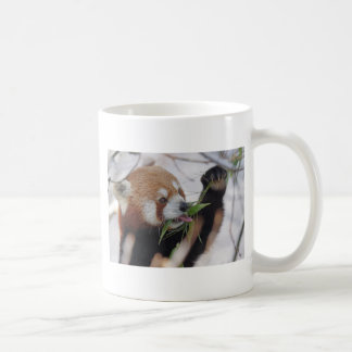 panda red animal print cute coffee mug
