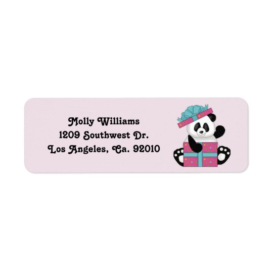 Panda Return Address Labels