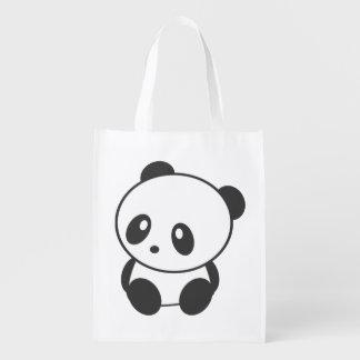 Panda reusable bag