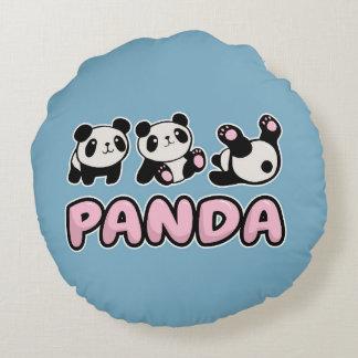 Panda Round Pillow