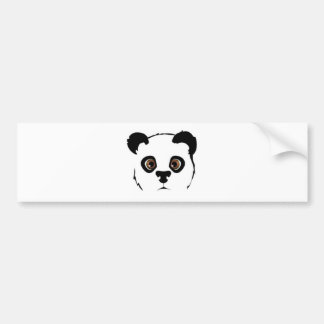Panda s face adhésifs pour voiture