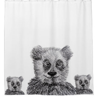 Panda Shower Curtain