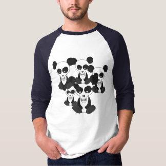"""""""Panda Skulls"""" Raglan T-Shirt"""
