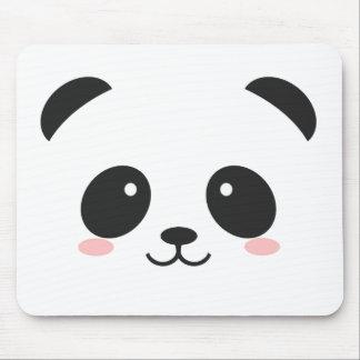 Panda souriant mignon tapis de souris