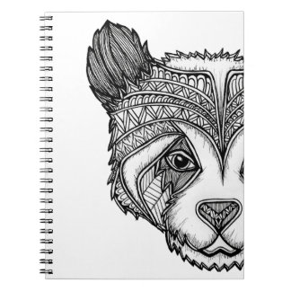 Panda Spiral Notebooks