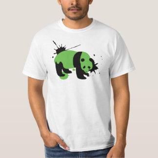 Panda splatter white T-Shirt