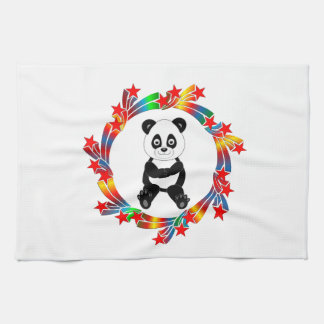 Panda Stars Kitchen Towel