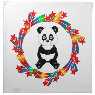 Panda Stars Napkin