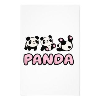 Panda Stationery