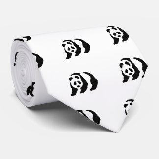 panda stencil tie