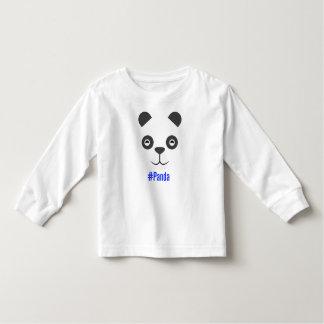 #panda toddler t-shirt