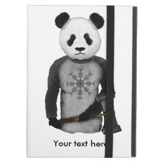 Panda Viking Helm Of Awe Cover For iPad Air