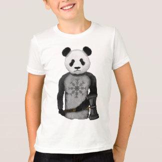 Panda Viking Helm Of Awe T-Shirt