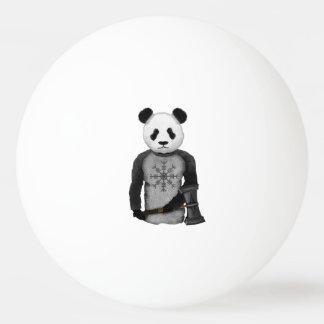 Panda Viking Warrior Ping Pong Ball