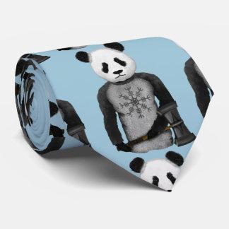 Panda Viking Warrior Tie