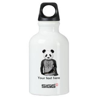 Panda Viking Warrior Water Bottle