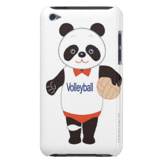 Panda Volleyball Player Barely There iPod Cover