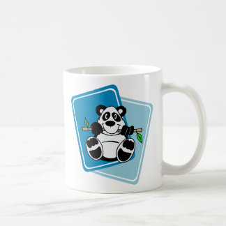 Panda with Bamboo Coffee Mug