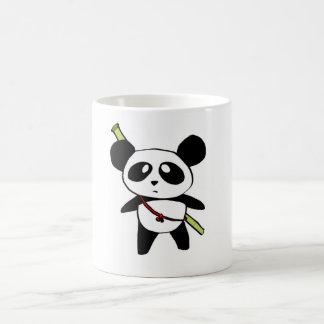 Panda with bamboo stick - by MyPanda Coffee Mug