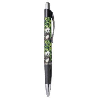 Panda With Bamboo Watercolor Pattern Pen