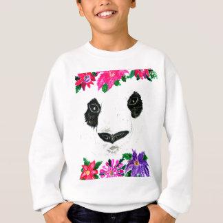Panda with Flowers Sweatshirt