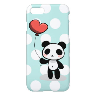 Panda with love iPhone 7 case