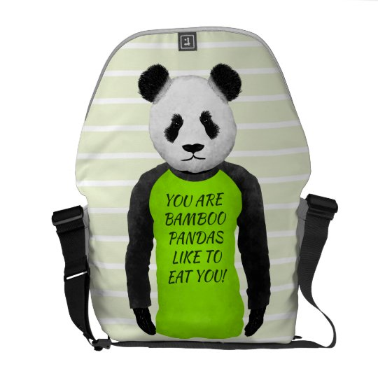 Panda Your Are Bamboo Pandas Like To Eat You Commuter Bag