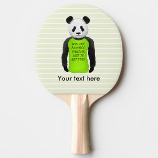 Panda Your Are Bamboo Pandas Like To Eat You Ping-Pong Paddle