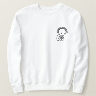 Pandah Depression Crewneck Embroidered Sweatshirt