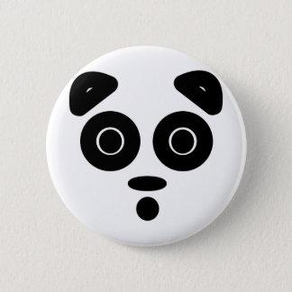 pandamonium. 2 inch round button