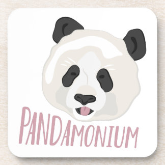 Pandamonium Beverage Coasters