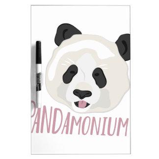 Pandamonium Dry Erase Boards