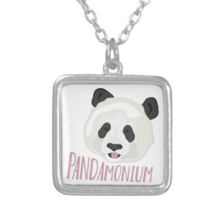 Pandamonium Silver Plated Necklace