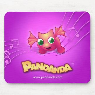 Pandanda Pink Dragon Mousepad