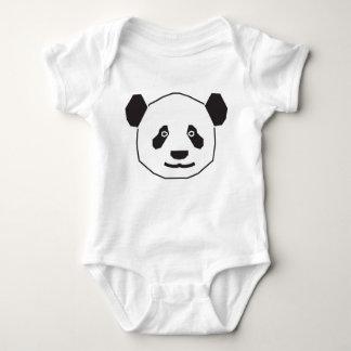 pandas baby bodysuit