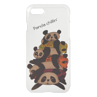 Pandas chilling iPhone 8/7 case