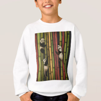 Pandas Climbing Bamboo Sweatshirt