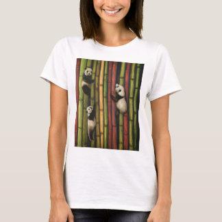 Pandas Climbing Bamboo T-Shirt