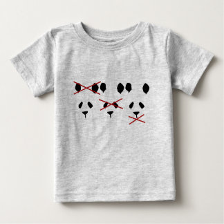 Panda's Don't Hate Baby T-Shirt