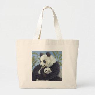 Pandas Large Tote Bag